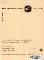 Evaluation of Magnetic Refocusing in Linear beam Microwave Tubes PDF