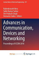 Advances in Communication, Devices and Networking