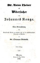 Offener Brief an Dr. Behnsch