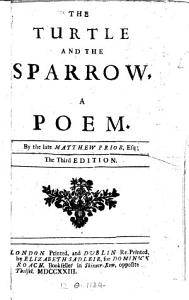 The Turtle and the Sparrow Book
