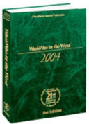 Who s Who in the West 2005 PDF
