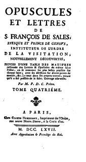 Opuscules: Volume4
