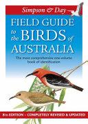 Field Guide to the Birds of Australia PDF