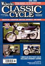 WALNECK'S CLASSIC CYCLE TRADER, JUNE 2008