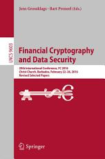 Financial Cryptography and Data Security PDF