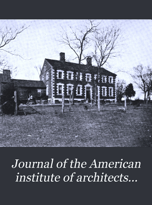Journal of the American Institute of Architects
