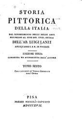Storia pittorica della Italia: Indici generali