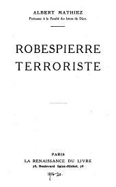Robespierre terroriste