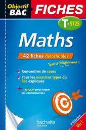 Objectif Bac Fiches Maths Term ST2S