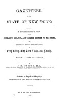 Gazetteer of the State of New York PDF
