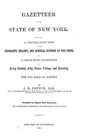 Gazetteer of the State of New York: Embracing a Comprehensive View of the Geography, Geology, and General History of the State, and a Complete History and Description of Every County, City, Town, Village and Locality. With Full Tables of Statistics