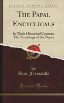 The Papal Encyclicals PDF