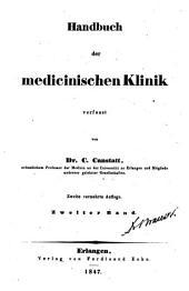 Die specielle Pathologie und Therapie: vom klinischen Standpunkte aus bearbeitet, Band 2