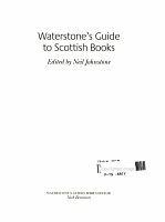Waterstone s Guide to Scottish Books PDF