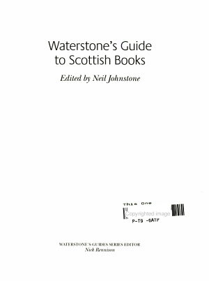 Waterstone's Guide to Scottish Books
