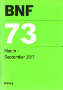 BNF 73  British National Formulary  March 2017 PDF