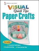 Paper Crafts VISUAL Quick Tips PDF