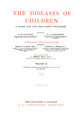 The Diseases of Children: A Work for the Practising Physician, Volume 6