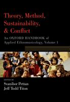 Theory  Method  Sustainability  and Conflict PDF