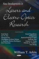 New Developments in Lasers and Electro optics Research PDF