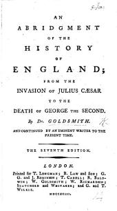An abridgment of the History of England ... The fourth edition ... continued by an eminent writer to the present time