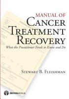Manual of Cancer Treatment Recovery PDF