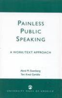 Painless Public Speaking
