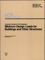 Minimum Design Loads for Buildings and Other Structures  7 88  PDF