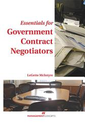 Essentials For Government Contract Negotiators Book PDF