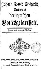 Johann David Michaelis Entwurf der typischen Gottesgelartheit