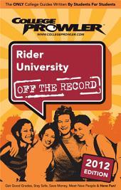 Rider University 2012