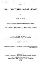 The Glasgow bills of mortality 1843/44