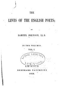 The Lives of the English Poets PDF