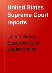 United States Supreme Court Reports: Volumes 58-61