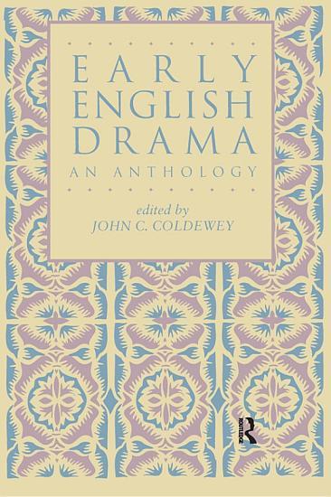 Early English Drama PDF