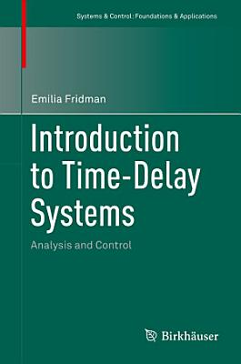 Introduction to Time Delay Systems PDF