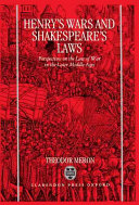 Henry s Wars and Shakespeare s Laws PDF