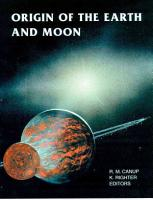 Origin of the Earth and Moon PDF