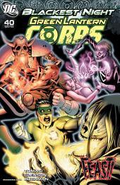Green Lantern Corps (2006-) #40