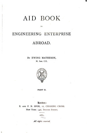 Aid Book to Engineering Enterprise Abroad
