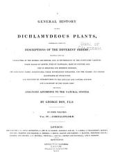 A General History of the Dichlamydeous Plants: Volume 4