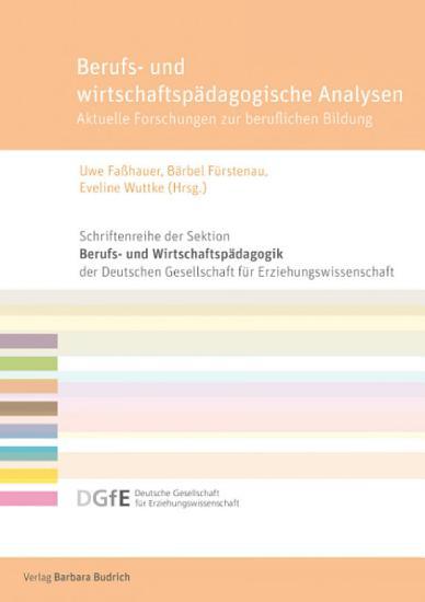 Berufs  und wirtschaftsp  dagogische Analysen PDF