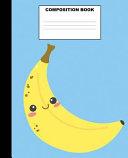 Banana Composition Book