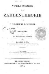 Vorlesungen über Zahlentheorie: Teil 2