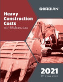 Heavy Construction Costs with Rsmeans Data
