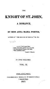 The Knights of St. John: A Romance, Volume 2