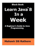 Learn Java 8 in a Week PDF