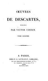 OEuvres de Descartes, publiées: Lettres