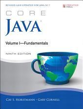 Core Java Volume I--Fundamentals: Edition 9