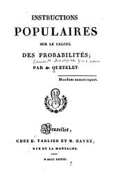 Instructions populaires sur le calcul des probabilities